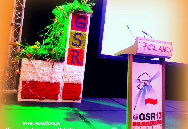 Konferencja GSR'13 -glorioza, anturium, zanthedeschie, goździki, chryzantemy